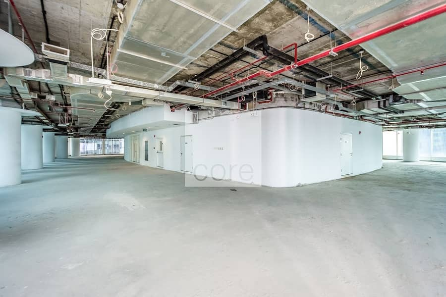 Shell and Core Full Floor l Low Floor| DED