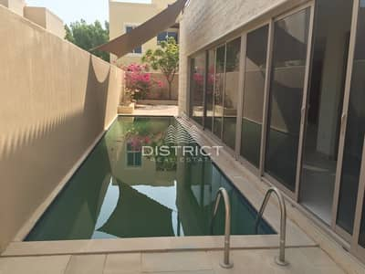 5 Bedroom Villa for Rent in Al Raha Gardens, Abu Dhabi - 5 BR  Villa with Pool in Al Raha Gardens