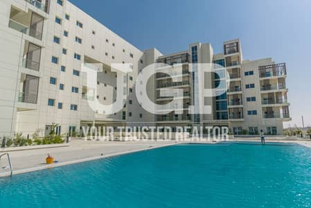 1 Bedroom Apartment for Rent in Masdar City, Abu Dhabi - Unfurnished 1BR apt | Vacant | Brand new