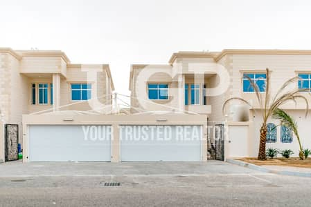 6 Bedroom Villa for Rent in Between Two Bridges (Bain Al Jessrain), Abu Dhabi - Vacant now Villa w/ Maids and Drivers Rm.