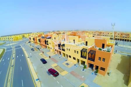 3 Bedroom Villa for Sale in Hydra Village, Abu Dhabi - Corner 3BR Villa Prime location w/ extra parking