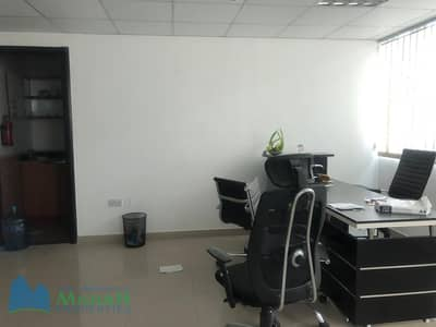 Office for Rent in Al Qusais, Dubai - Ready office with furniture option for 6 cheques near Al mulla Plaza