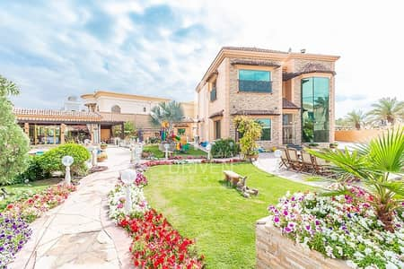 5 Bedroom Villa for Rent in Al Barsha, Dubai - Amazing 5 BR Huge Plot with Private Pool