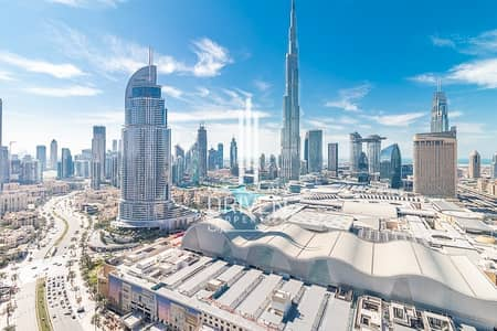 2 Bedroom Flat for Sale in Downtown Dubai, Dubai - Ready Unique 2 Bed. Plus Study Mid Floor