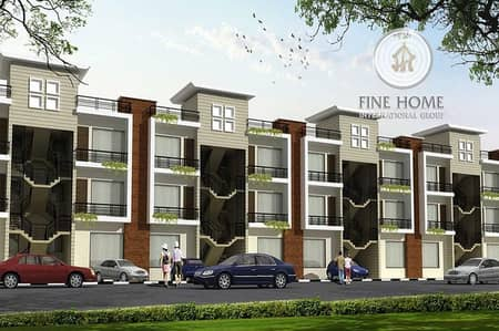 5 Bedroom Villa for Sale in Khalifa City A, Abu Dhabi - Nice 4 Villas Compound in khalifa City.