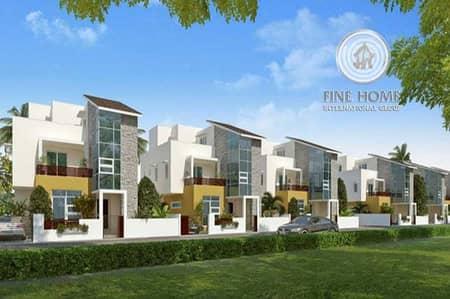 10 Bedroom Villa for Sale in Khalifa City A, Abu Dhabi - Modern 4 villas compound in khalifa city