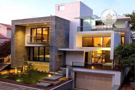 10 Bedroom Villa for Sale in Al Karamah, Abu Dhabi - Corner 11BR.Villa in Al Zaab _ Abu Dhabi