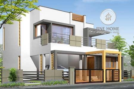 8 Bedroom Villa for Sale in Al Shamkha, Abu Dhabi - Brand New Villa in Al Shamkha_Abu Dhabi.