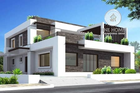 5 Bedroom Villa for Sale in Al Shamkha, Abu Dhabi - Villa 5 Bedrooms + Maid's in Al Shamkha