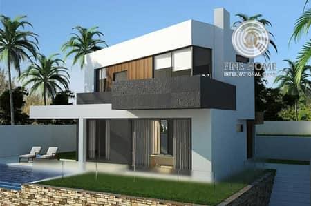 5 Bedroom Villa for Sale in Al Shamkha, Abu Dhabi - 5BR +Pool Villa in Al Shamkha