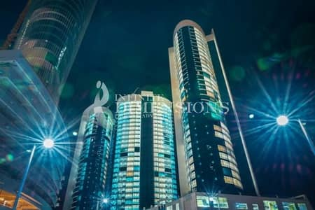2 Bedroom Flat for Rent in Al Reem Island, Abu Dhabi - Short Term!Minimum 3Months 2BR in Hydra