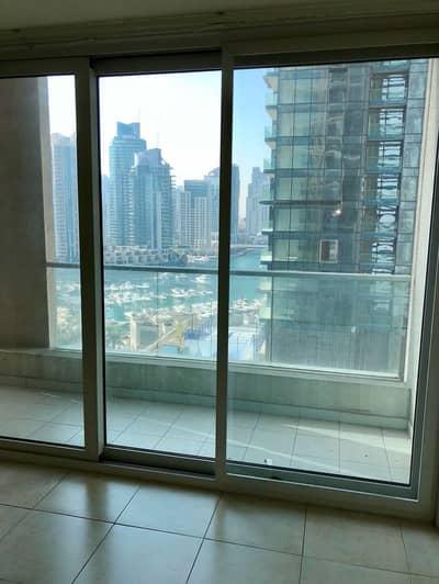 2 Bedroom Flat for Sale in Dubai Marina, Dubai - Partial Marina View corner unit mid floor Marina Heights Tower