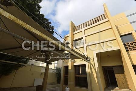 6 Bedroom Villa for Rent in Al Mushrif, Abu Dhabi - Big Residential Villa on the Main Street