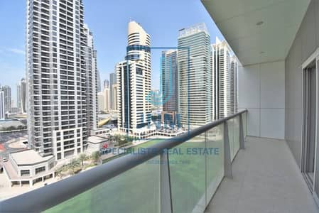 Office for Rent in Jumeirah Lake Towers (JLT), Dubai - Spacious fitted office w/balcony in Tiffany