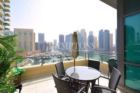 2 Bedroom Flat for Sale in Dubai Marina, Dubai - Unique | Full view of Marina | Top Floor