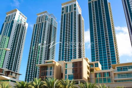 2 Bedroom Apartment for Rent in Al Reem Island, Abu Dhabi - High Floor! 2 BR Apartment w/ 3 Payments