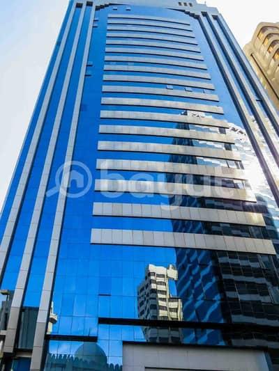 4 Bedroom Flat for Rent in Liwa Street, Abu Dhabi - 4 Bedrooms flat on Liwa street with full see view (Without Commission)