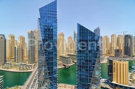 2 Bedroom Apartment for Sale in Dubai Marina, Dubai - Investment Opportunity  Full Marina Unit