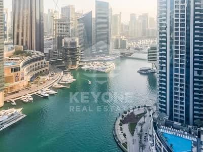 2 Bedroom Flat for Sale in Dubai Marina, Dubai - Brand New | Unfurnished 2 BR | Full Marina View