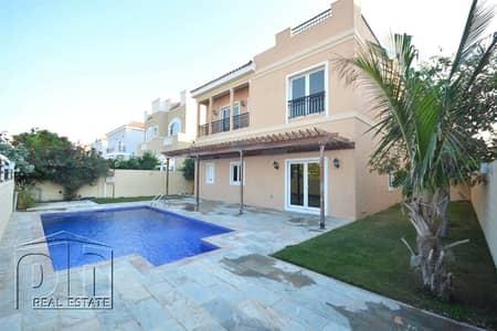 5 Bedroom Villa for Rent in The Villa, Dubai - Well Presented | A2 | 4 Cheques