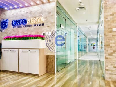 Office for Rent in Business Bay, Dubai - Neatly Furnished Office in a Very Low Price with No Commission Fee at an All Inclusive Offer