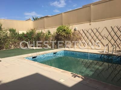 5 Bedroom Villa for Rent in Al Raha Golf Gardens, Abu Dhabi - Front & Back Garden I With Private Pool I