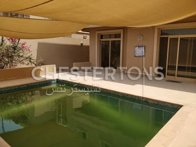4 Bedroom Villa for Rent in Al Raha Golf Gardens, Abu Dhabi - Negotiable I Lovely Community I Private Pool