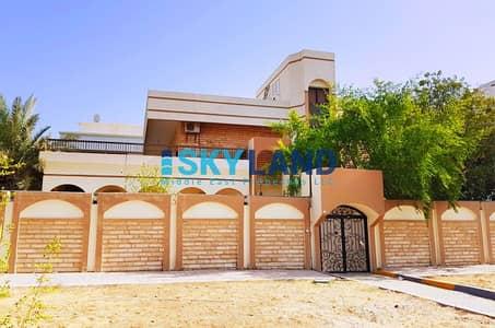 5 Bedroom Villa for Rent in Al Khalidiyah, Abu Dhabi - standalone with pvt entrance huge garden