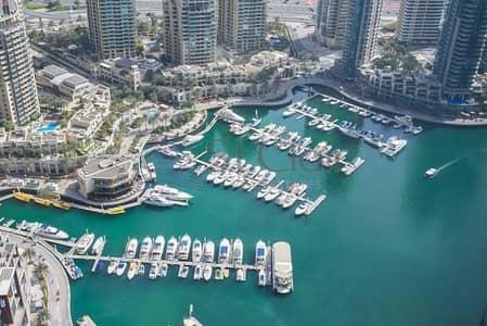 2 Bedroom Apartment for Sale in Dubai Marina, Dubai - 2 BR  Full Sea View  Marina Cayan Tower