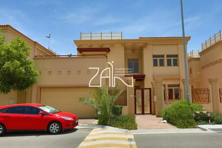5 Bedroom Villa for Rent in Al Raha Golf Gardens, Abu Dhabi - Luxurious 5 BR Great Location with Pool
