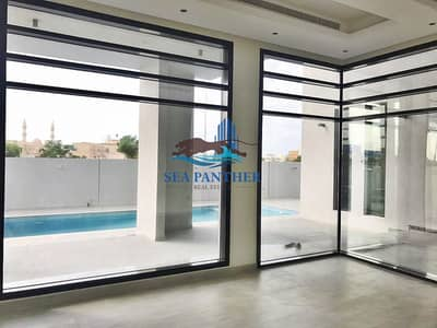 6 Bedroom Villa for Rent in Al Quoz, Dubai - Fully Upgraded Modern 6 BHK Villa w Pool