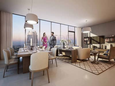 2 Bedroom Apartment for Sale in Downtown Dubai, Dubai - Higher Floor | Special 5 Years Post Handover