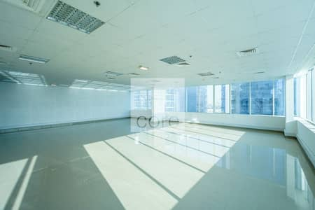 Floor for Rent in Business Bay, Dubai - Half Floor | Fully Fitted Office | Vacant