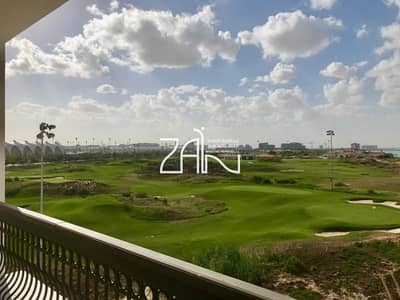 2 Bedroom Apartment for Rent in Yas Island, Abu Dhabi - Full Golf View Lovely 2+M Apt w/ Balcony