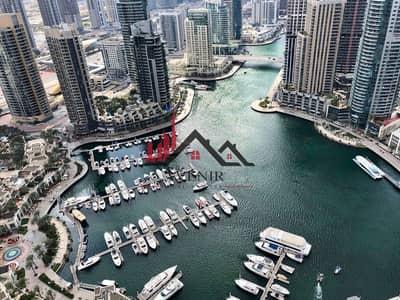 1 Bedroom Apartment for Sale in Dubai Marina, Dubai - High Floor Stunning View | Marina Gate 1