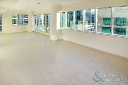 2 Bedroom Flat for Sale in Dubai Marina, Dubai - Huge Living Room | Partial Marina | Tenant