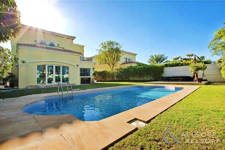 4 Bedroom Villa for Rent in Jumeirah Park, Dubai - Extended   Single Row   Private Pool
