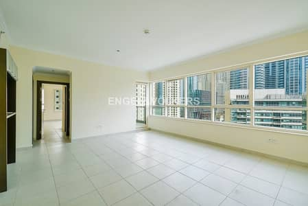 2 Bedroom Apartment for Rent in Dubai Marina, Dubai - Large Vacant 2BR Marina Quay| Canal View