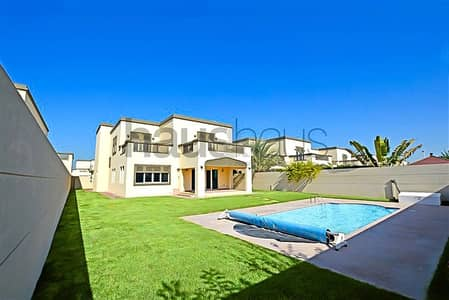 4 Bedroom Villa for Rent in Jumeirah Park, Dubai - Landscaped Garden   District  3   Pool  