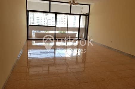 3 Bedroom Flat for Rent in Electra Street, Abu Dhabi - 3BHK+3BATHS+CentralAC near LLH Hospital!
