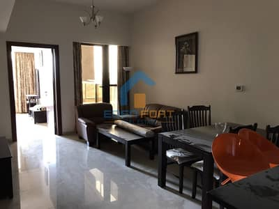 1 Bedroom Apartment for Rent in Dubai Sports City, Dubai - Spacious fully furnished vacant apartment
