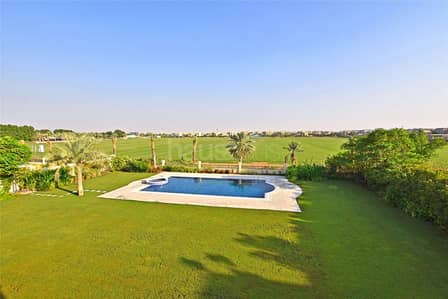 6 Bedroom Villa for Sale in Arabian Ranches, Dubai - Fully Furnished | Full Polo View | V.O.T