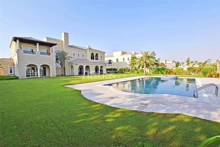 فیلا 6 غرف نوم للبيع في المرابع العربية، دبي - Fully Furnished | Full Polo View | V.O.T