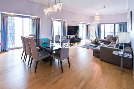 4 Bedroom Flat for Rent in Dubai Marina, Dubai - Cayan Tower || Amazing Views || Upgraded