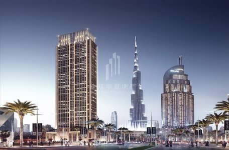1 Bedroom Flat for Sale in Downtown Dubai, Dubai - Limited 1BR | Burj Royale | Hand Over Q4 2022