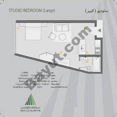 Studio Bedroom Large