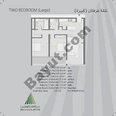2 Bedroom Large