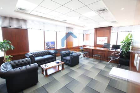 Office for Sale in Motor City, Dubai - Fully Upgraded Decorated Glass Partition