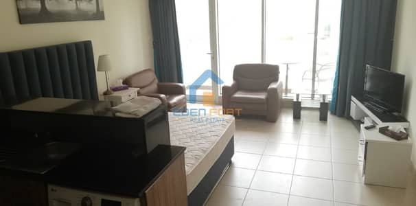Studio for Rent in Downtown Dubai, Dubai - Furnished Studio Without Construction Facing