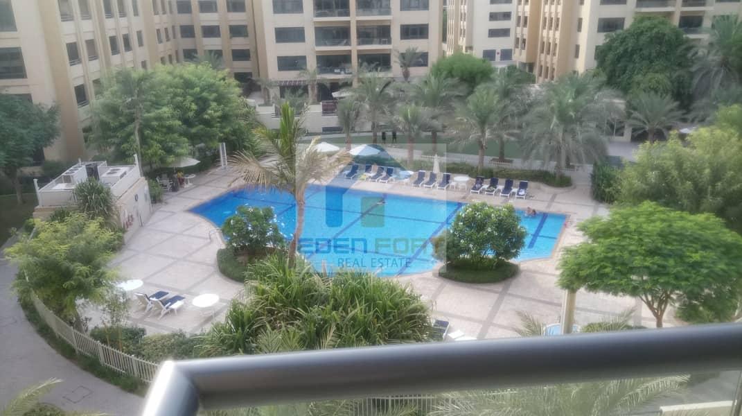 3BR+Laundry| Al Jaz 3|Pool View|Spacious